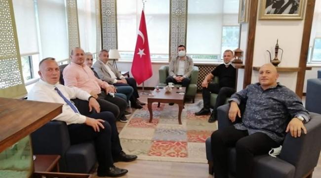 Silivri'nin Trabzon'daki Yeni Kaymakamına İlk Hayırlı Olsun Ziyareti Gerçekleştirildi