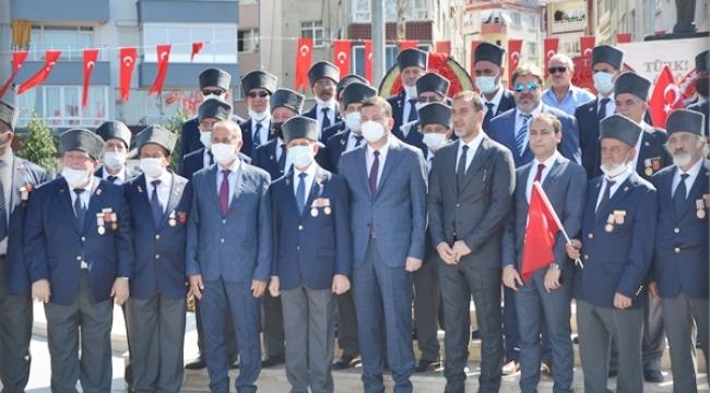 19 Eylül Gaziler Günü Silivri'de Törenle Kutlandı
