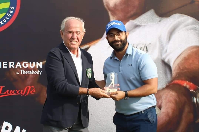 2021 Kulüp Şampiyonası'nda derece kazanan golfçüler ödüllerini aldı