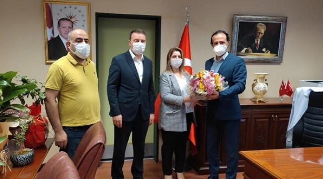 AK Parti'den Yeni Başhekime Ziyaret