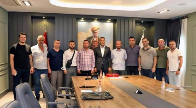 Avcılar'dan Başkan Volkan Yılmaz'a Ziyaret
