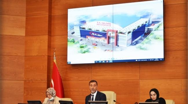 Belediyeye Soyunma Odalı, Duşlu Ek Hizmet Binası ve 300 Araçlık Otopark