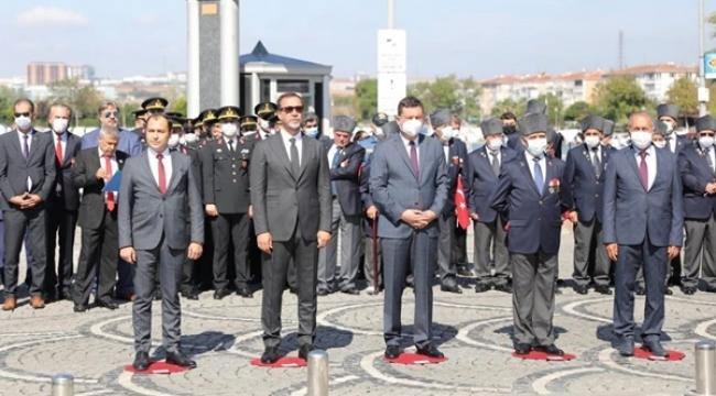 Gaziler Günü Resmi Törenle Kutlandı