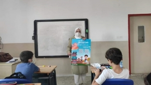Kitap Kurtları Yarışıyor etkinliği Silivri'deki okullarda tanıtıldı