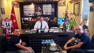 Marmara Yönetim ve Organizasyon Hizmetlerinden Başkan Koçer'e Ziyaret