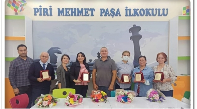 Piri Mehmet Paşa İlkokulu'nda veda merasimi yapıldı