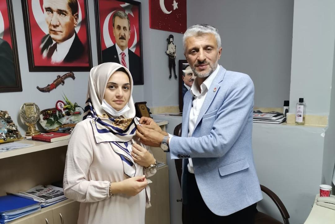 Selin Dayıoğlu Sarı, BBP Silivri İlçe Kadın Kolları Başkanlığına Atandı