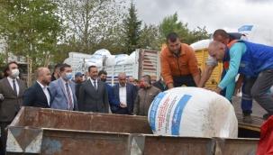 Silivri Belediyesi 500 Ton Mısır Silajını 1000 Üreticiye Dağıtıyor