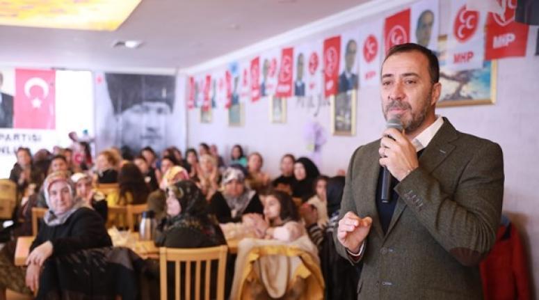 MHP'den Selimpaşalı kadınlara özel toplantı