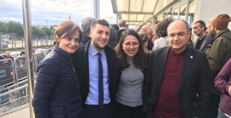Esen, Gezi Direnişi Duruşması'na Katıldı