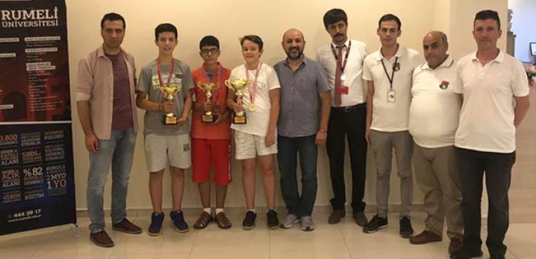 Silivri'de 15 Temmuz Satranç Turnuvası Düzenlendi