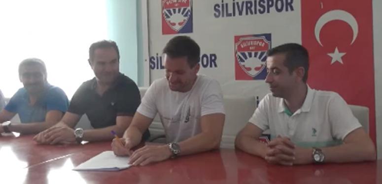 Silivrispor'un yeni hocası Sertan Güriz imzayı attı