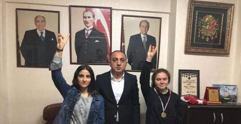 Ülkü Ocakları'nın Gururu Funda Sinem Beşiktaş Oldu! Bedel, Tebrik Etti!