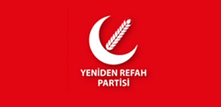Yeniden Refah Partisi'nin tabelası takıldı