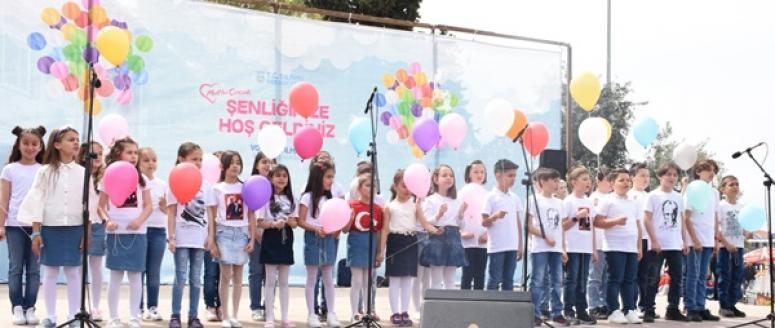 Silivri'de 23 Nisan kutlaması