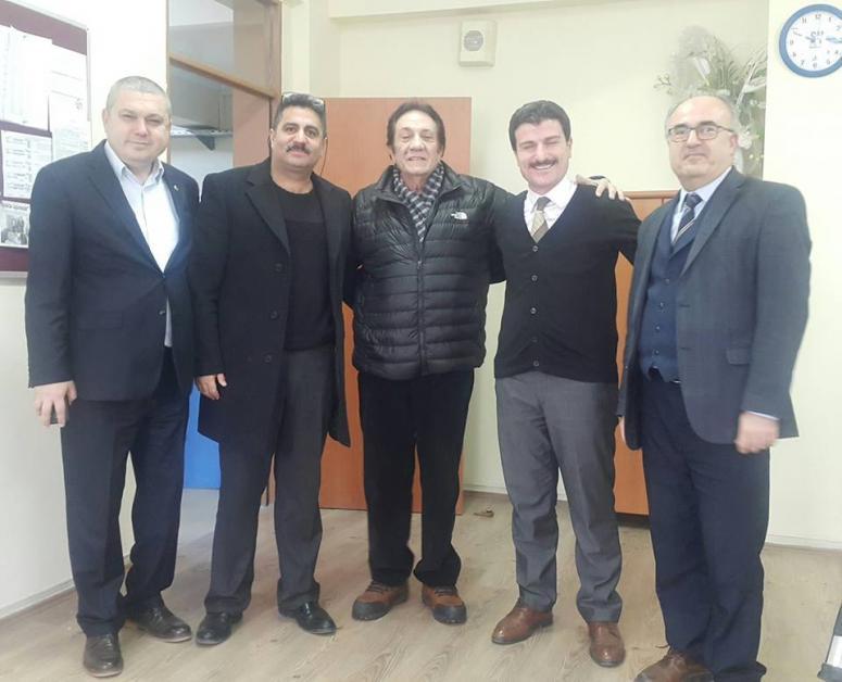 İzzet Altınmeşe'den Toki Cumhuriyet Lisesi'ne ziyaret