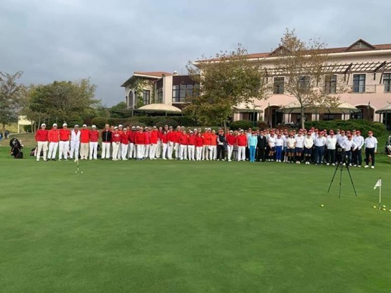 Türk - Kore Dostluk Kupası Golf Turnuvası Silivri'de düzenlendi
