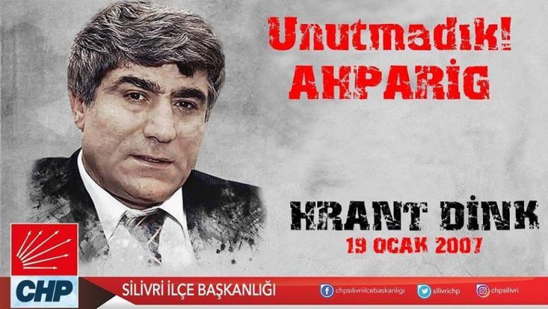 Göçengil'den Hrant Dink mesajı