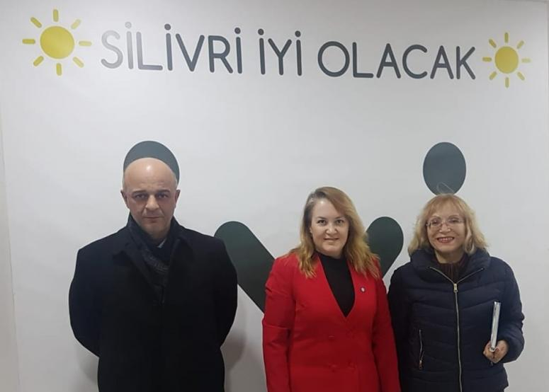 Aydoğan'dan İYİ Parti ziyareti