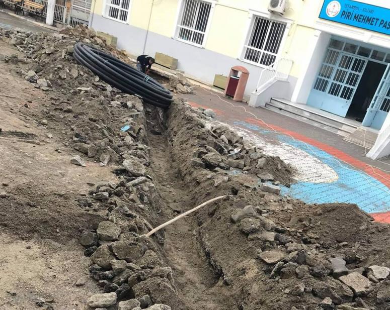 Piri Paşa'da onarım çalışmaları başladı