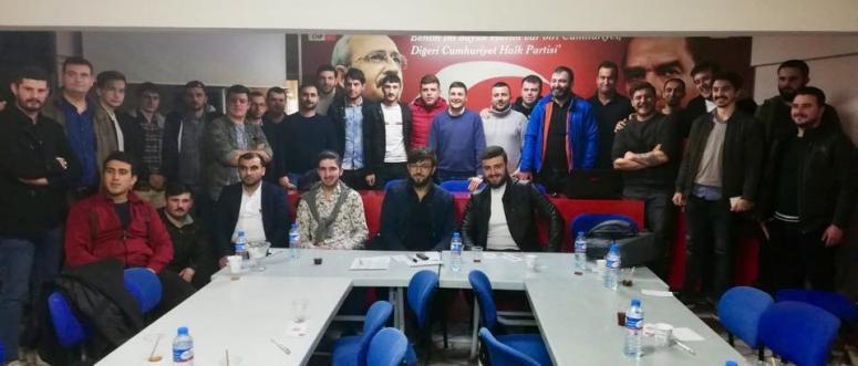 CHP Silivri Gençlik Kolları toplandı