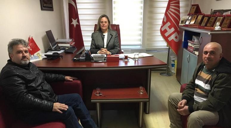 Bilgiç'ten CHP Silivri'ye ziyaret