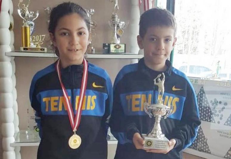 Silivri Tenis Kulübü gururlandırdı