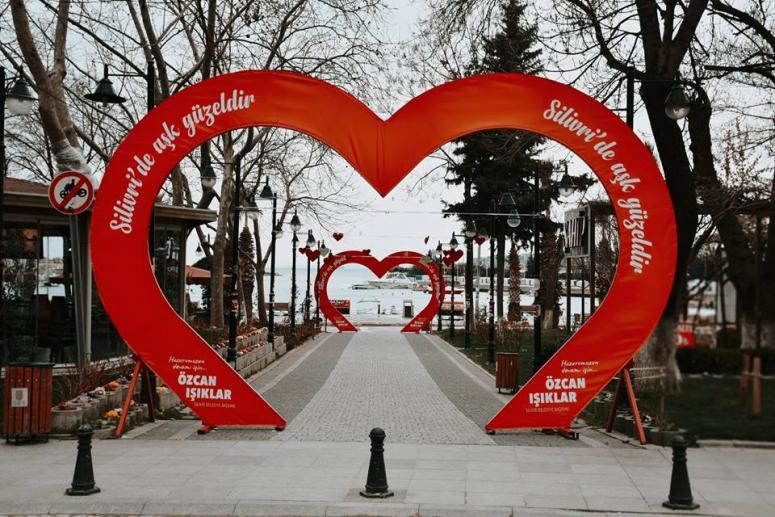 Silivri Belediyesi'nden 14 Şubat'a özel platform