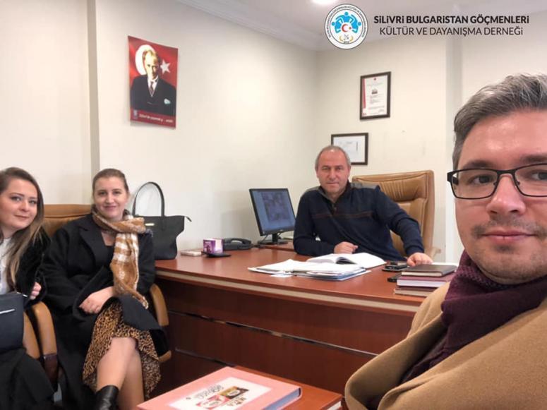 Silivri BULGÖÇ'ten Tahsinkaya'ya ziyaret