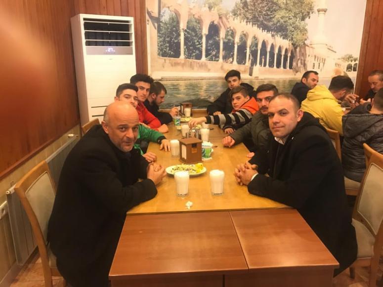 Çakır'dan, Çeltikspor'a moral yemeği