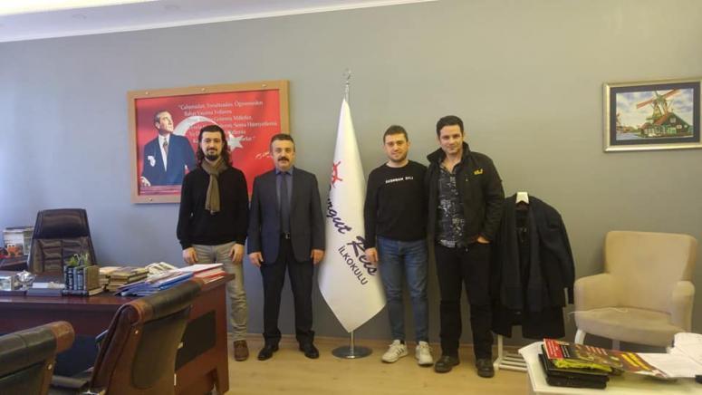 Turgut Reis İlkokulu'na 'Marş' Yazıldı