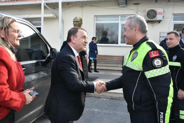 Bölge Trafik Amirliğine ziyaret