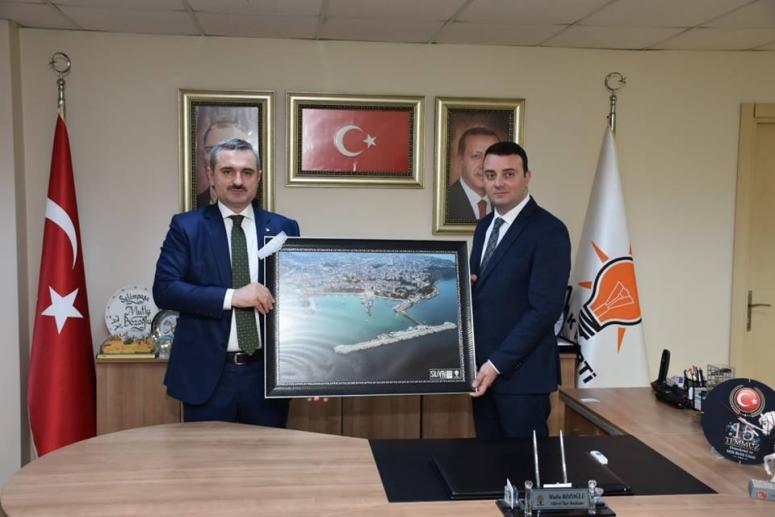 AK Parti Silivri, Şenocak'ı ağırladı