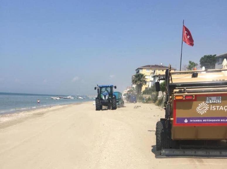 Silivri Plajları Temizleniyor