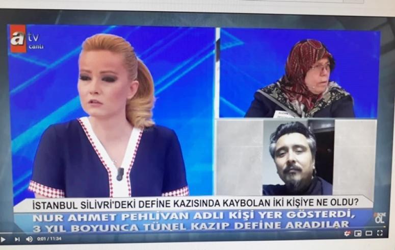 Gümüşyaka'daki define olayı Müge Anlı'da!