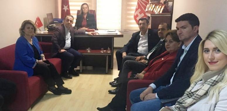 Aygun ve Gaytancıoğlu'ndan CHP ziyareti