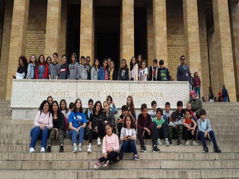 80. Yıl öğrencileri Ata'mızın huzurundaydı!