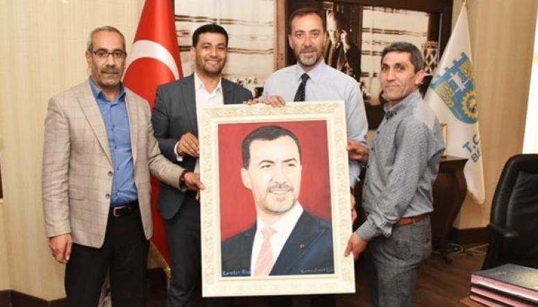 Karakan ailesinden Yılmaz'a ziyaret