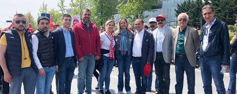 CHP Silivri, Bakırköy'de 1 Mayıs alanındaydı