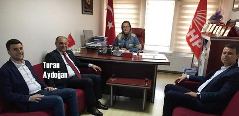 Turan Aydoğan'dan CHP Silivri'ye ziyaret