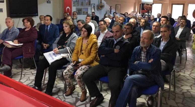 CHP'liler sandık güvenliği için toplandı