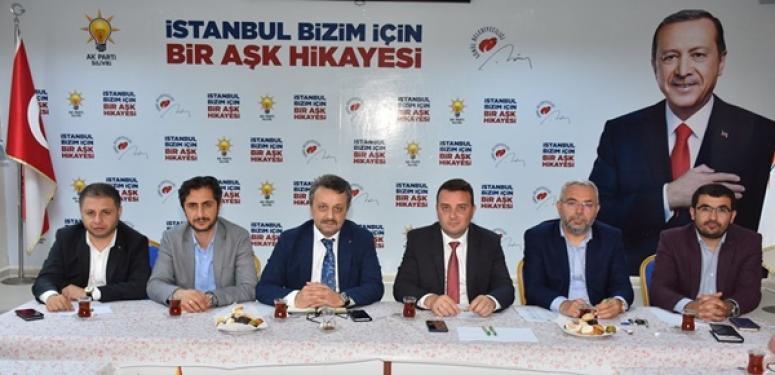 AK Parti Silivri'de de gündem aynı: 23 Haziran!
