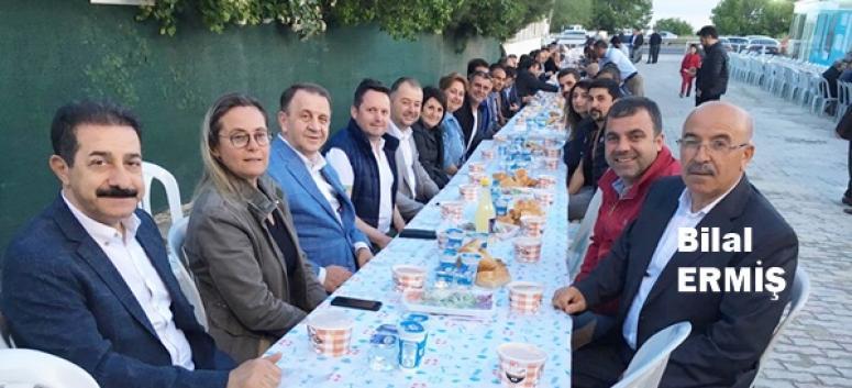 Bilal Ermiş'in iftarında buluştular