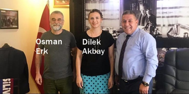 Prof. Dr. Osman Erk'ten Koçer'e ziyaret