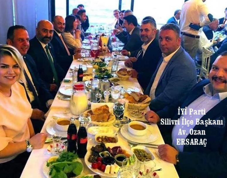 İYİ'ler İmamoğlu için İstanbul'da buluştu!