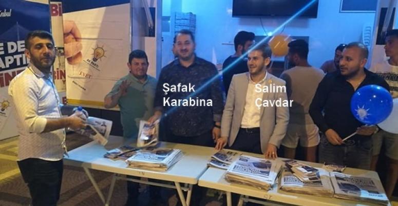 AK Nokta'dan bayramda seçim çalışması