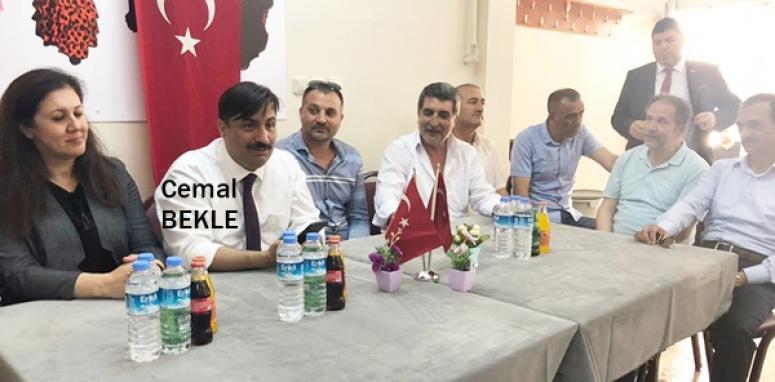 AK Parti İzmir Milletvekilinden Silivri'deki seçim çalışmasına destek