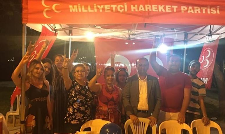 MHP Derince'den Silivri Teşkilatı'na destek