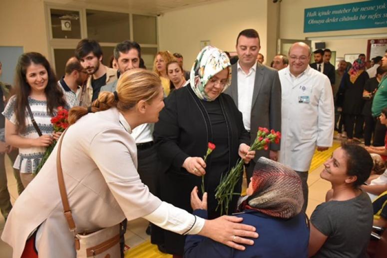 Bakan Selçuk'tan Silivri'de hastane ziyareti