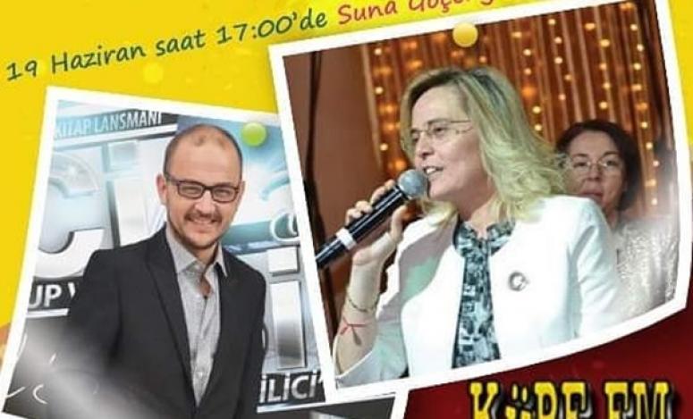 Suna Göçengil, bugün KÜPE FM'de